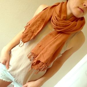 [75% off] XL Sienna Colored Scarf