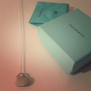 Jewelry - Tiffany & Co authentic heart necklace💕