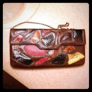 Handbags - caprice vintage clutch