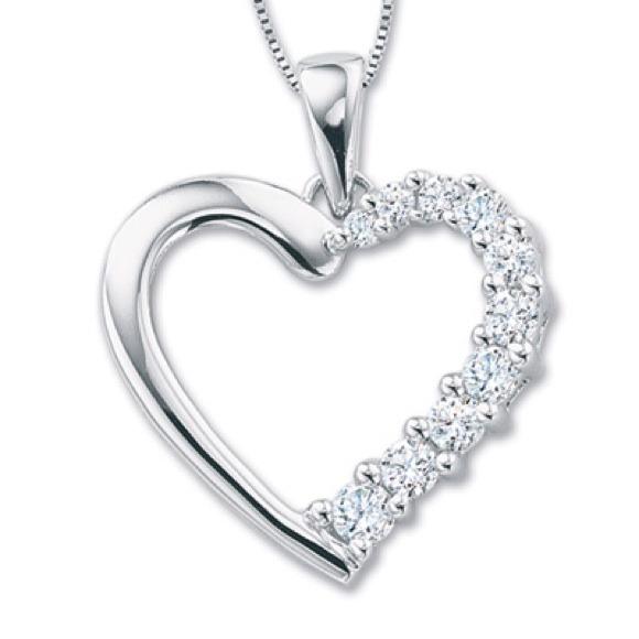 57 off zales jewelry zales 14k diamond white gold for Where is zales jewelry