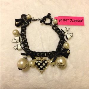 Betsey Johnson Jewelry - ***SOLD***SOLD***Betsey Johnson charm bracelet