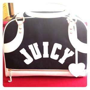 AUTHENTIC Juicy Couture Large Bowling Bag