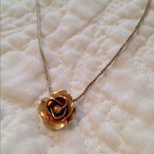 Avon Vintage Avon 14k goldfilled rose necklace from Kaycee