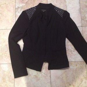 White House Black Market Jackets & Blazers - WHBM  blazer bead detail on the shoulders