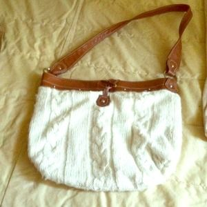 White old navy bag
