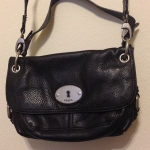 Fossil Maddox Leather Shoulder Bag
