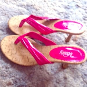 Shoes - 1.5 inch pink heels