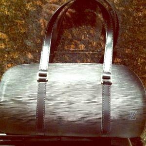 Louis Voutton Epi Soufflot Bag
