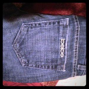 Cute bebe jeans. Size :26