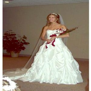 Dresses Davids Bridal Wedding Dress Size 2 Poshmark