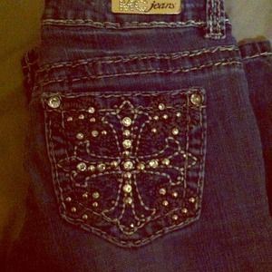 Denim - Miss Chic size 1 jeans RESERVED