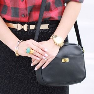 Jcrew cross body in black