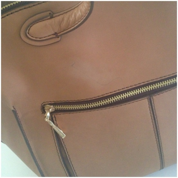 Zara Bags - Large leather tote! Price negotiable !