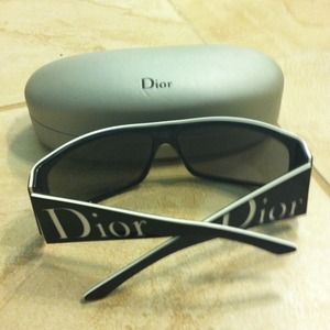 Authentic, Dior sunglasses.