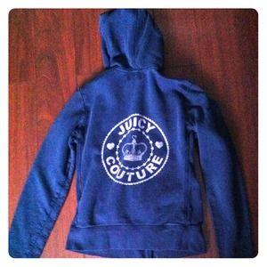 Juicy Couture navy blue hoodie
