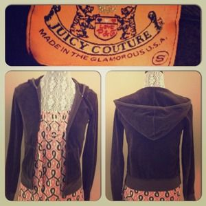 Juicy Couture Sweaters - ❌SOLD❌Juicy Couture Velour Hoodie