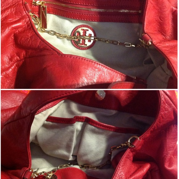"Tory Burch Handbags - SOLD❌Tory Burch ""Dafina"" Embossed Hobo 3"