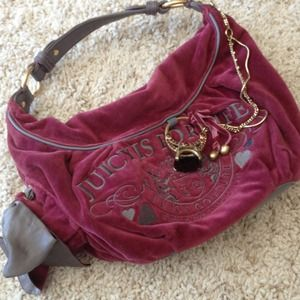 👜🍒Authentic Juicy velour Blingy handbag