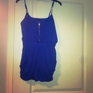 Sold!!!!!!Royal Blue Romper Adorable!!!