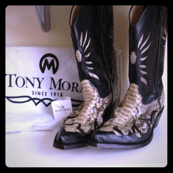 60 Off Tony Mora Boots Tony Mora Cowboy Boots From