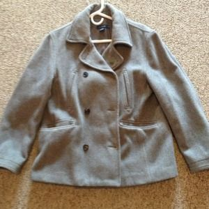 *REDUCED* Grey Pea Coat