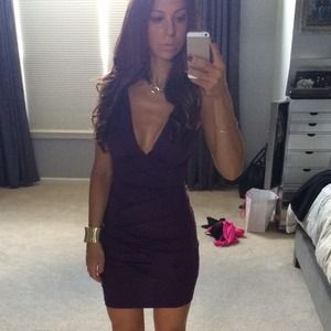 Dresses & Skirts - Plum purple sexy dress