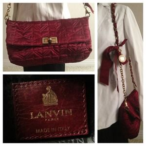  HOST PICK ✂  LANVIN Shoulder Bag