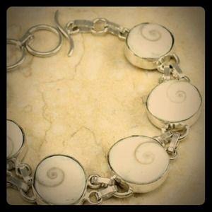 Sterling Silver Genuine Shiva Bracelet - NWOT
