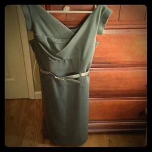 Green Adrianna Papell dress! Worn once!