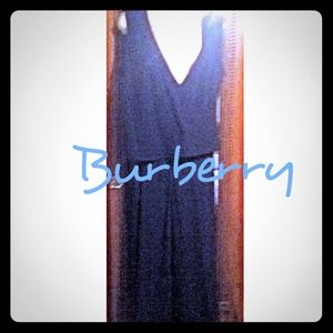 VINTAGE BURBERRY! Cross Draping Tank w/ Slacks 12P