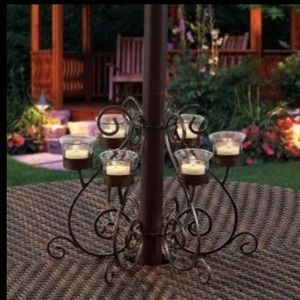 Attrayant Other   Victorian Patio Umbrella Votive Candle Holder