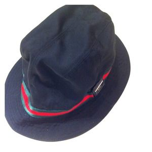 Authentic Gucci fedora hat