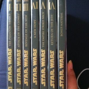 Accessories - Star Wars DVDs 1-6 & bonus material DVD