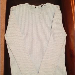 Reduced...Baby blue sweater