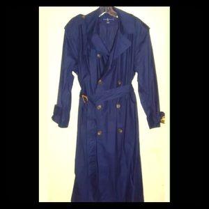 💙💙SOLD💙💙 Ralph Lauren Classic Top/Trench Coat
