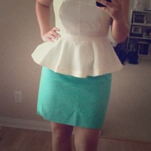 Mint jcrew skirt