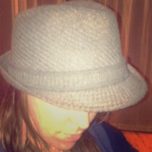 Accessories - Sassy grey Fedora