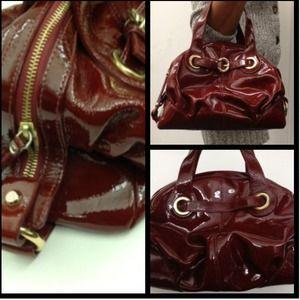 Handbags - Francesco Biasia Authentic Patent Leather Purse