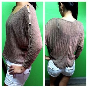 Tops - SOLD. ✨NEW✨ Knit Sweater with Button Detail