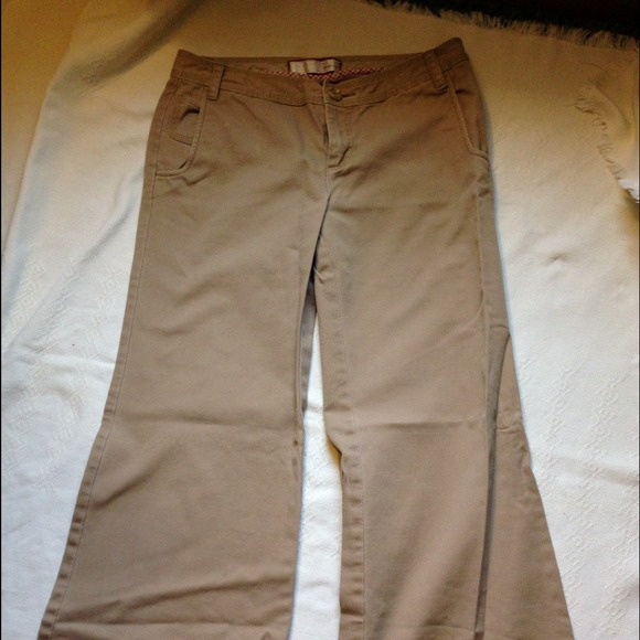 closer at shop for genuine latest design Old Navy khaki Pants Bell Bottoms