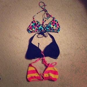 Tops - Never worn bathing suit tops