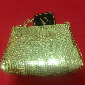 Handbags - Gold night purse