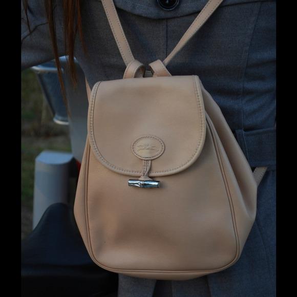 8fcb41c6960 Longchamp Bags - Longchamp Leather backpack. Longchamp Handbags - Longchamp Leather  backpack