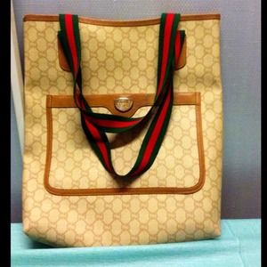 ON HOLD for @Chayne2004 Vintage Gucci Plus Tote