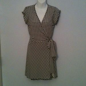 Mini Wrap Dress One Size