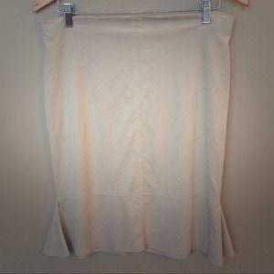 Max Studio Microsuede Skirt size Med