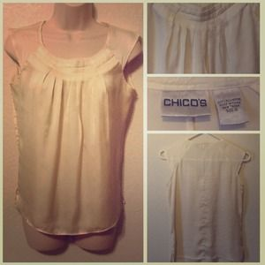 Chico's Tops - Beautiful White Blouse