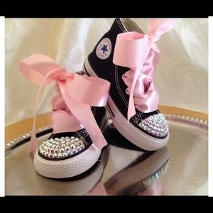 Converse Shoes - AllStar Converse Sneakers with Swarovski Crystals 3a1b8ffb5d2c