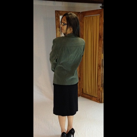 Jaclyn smith  Jackets & Coats - Forest green blazer. JACLYN SMITH