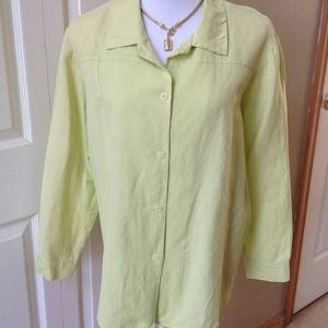 Long Sleeve Embroider Shirt